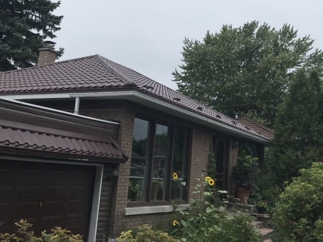 Metal Roof Renovation Candiac