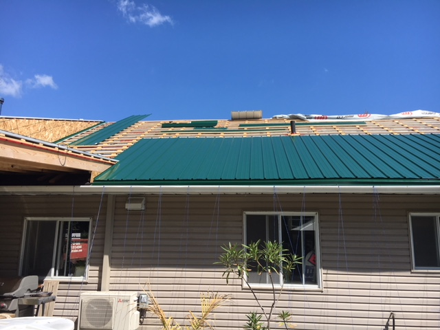metal roof installation brossard