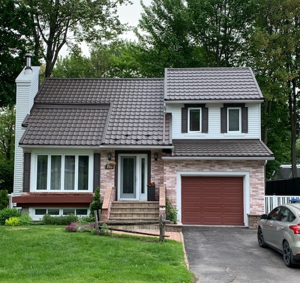 Roof Replacement Dorval - Metal roofing