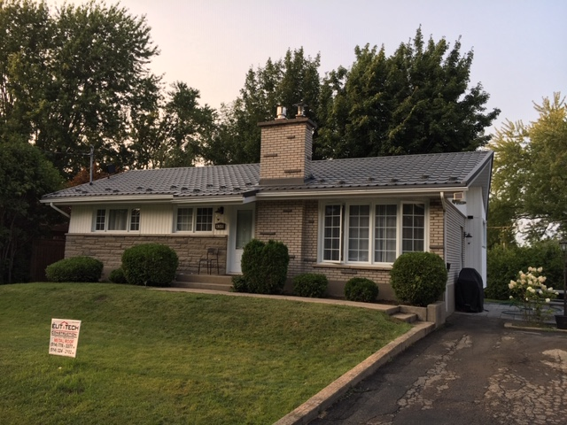 Roof replacement Sainte-Jerome - Metal roofing